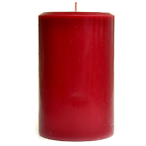 Recycled Wax 4 x 6 Pillar Candles