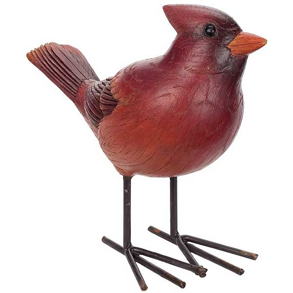 Red Cardinal Bird Accent