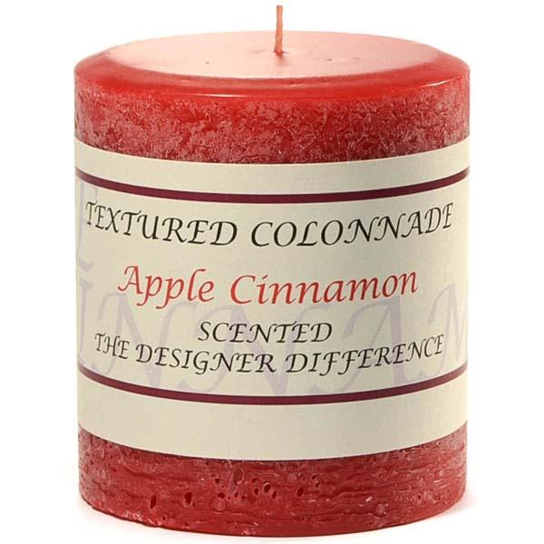 Rustic Apple Cinnamon 3 x 3 Pillar Candles