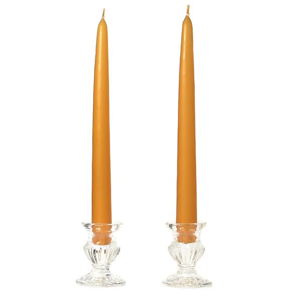 10 Inch Harvest Taper Candles Dozen