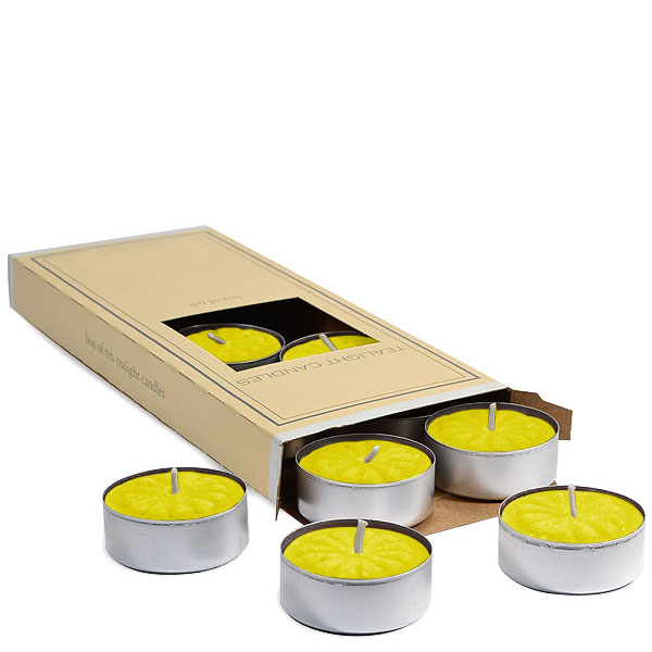 Citronella Scented Tea Lights