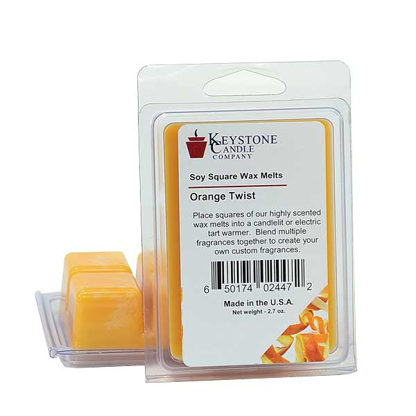 Orange Twist Soy Wax Melts