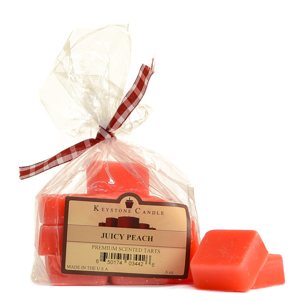 Bag of Juicy Peach Scented Wax Melts