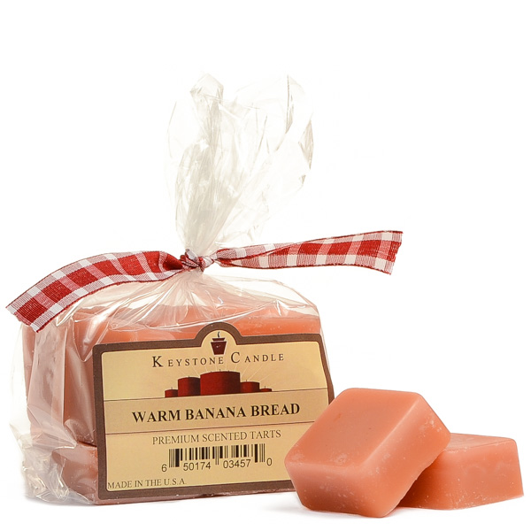 Bag of Warm Banana Bread Scented Wax Melts