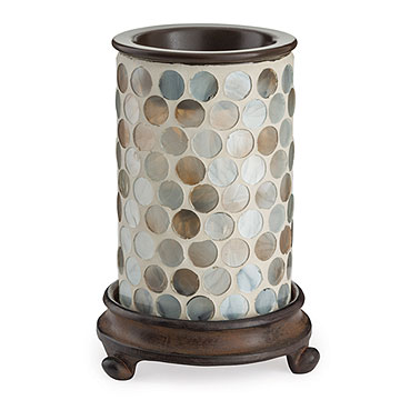 Pearl Glass Illumination Tart Burner