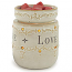 Live Laugh Love Round Tart Warmer