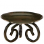 5 Inch Scroll Metal Candle Holder