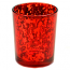 Speckled Red Straight Votive Cup