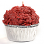 Red Velvet Cake Muffin Candle