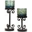 Ambia Set of 2 Candle Holders
