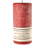Textured Mistletoe and Holly 3 x 6 Pillar Candles