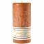 Textured Spiced Pumpkin 4 x 9 Pillar Candles