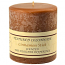 Textured Cinnamon Stick 4 x 4 Pillar Candles