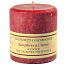 Textured Raspberry Cream 4 x 4 Pillar Candles