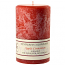 Textured Apple Cinnamon 4 x 6 Pillar Candles