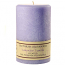 Textured Lavender Vanilla 4 x 6 Pillar Candles