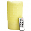 Honeycomb 4 x 8 Remote Control Pillar Candles