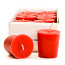 Apple Cinnamon Scented Votive Candles