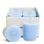 Baby Powder Blue Scented Votive Candles