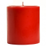 3 x 3 Macintosh Apple Pillar Candles