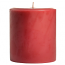 3 x 3 Raspberry Cream Pillar Candles