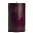 4 x 6 Merlot Pillar Candles