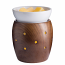 Glimmer Fragrance Warmer Walnut