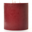 6 x 6 Redwood Cedar Pillar Candles