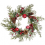 Pine Bell Berry Candle Rings 6 Inch