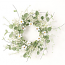 Daisy Eucalyptus Candle Ring 6.5 Inch