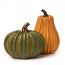 Resin Gourds Set of 2 Assorted