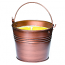 Citronella Bucket Outdoor Candle Copper 22 oz.