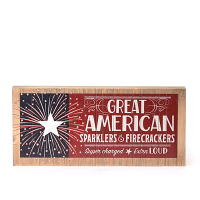 Great American Wooden Sign