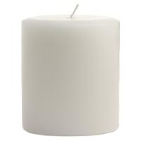 3 x 3 Dapper In Denim Pillar Candles