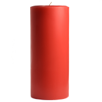 4 x 9 Ruby Red Grapefruit Pillar Candles