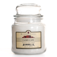 Candy Cane Jar Candles 16 oz