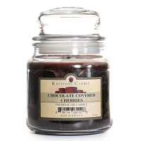 Chocolate Covered Cherries Jar Candles 16 oz