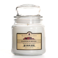 Dapper In Denim Jar Candles 16 oz