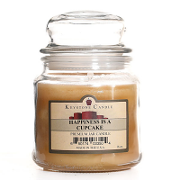 Happiness Is A Cupcake Jar Candles 16 oz