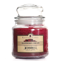 Raspberry Cream Jar Candles 16 oz