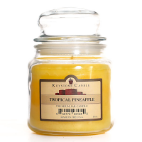 Tropical Pineapple Jar Candles 16 oz