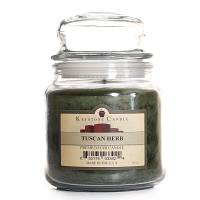 Tuscan Herb Jar Candles 16 oz