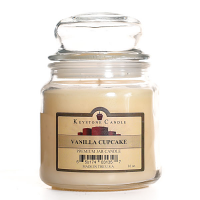 Vanilla Cupcake Jar Candles 16 oz