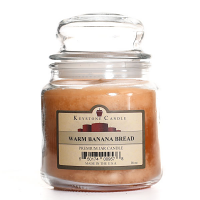 Warm Banana Bread Jar Candles 16 oz