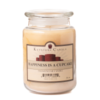 Happiness Is A Cupcake Jar Candles 26 oz