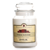 White Winter Jar Candles 26 oz Limited