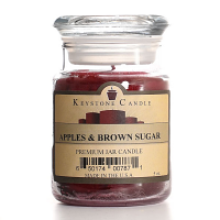 Apples and Brown Sugar Jar Candles 5 oz