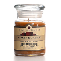 Ginger and Orange Jar Candles 5 oz