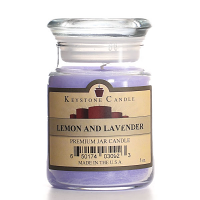 Lemon and Lavender Jar Candles 5 oz