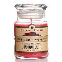 Ruby Red Grapefruit Jar Candles 5 oz